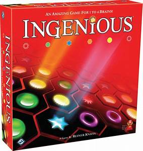 Ingenious From Fantasy Flight Games - Nerdy With Children