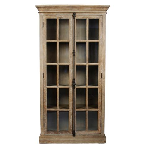 tall glass front cabinet tall antique glass door display cabinet