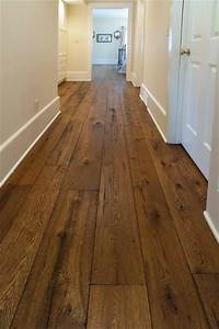 Antique Resawn Oak Hardwood Flooring - Traditional - Hall
