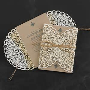 carlson craft wedding invitations country lace invitation gt wedding invitations carlson craft wedding stationery products