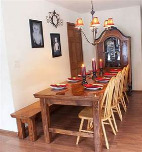 15, Diy, Farmhouse, Table, To, Create, Warm, And, Inviting, Dining, Area, U2013, Home, And, Gardening, Ideas