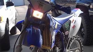 Yamaha Wr450 8000k Hid Install
