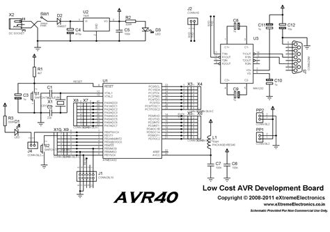buy 40 pin avr development board lowest cost in india with on delivery cod