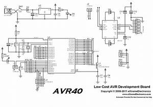 Buy 40 Pin Avr Development Board Lowest Cost In India With