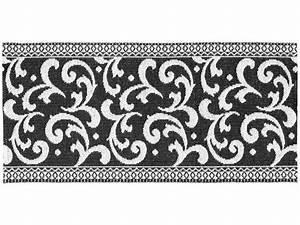 Tapis En Plastique : tapis en plastique le tapis de horred barock noir ~ Teatrodelosmanantiales.com Idées de Décoration
