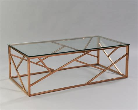 The frosted top is such a nice addition instead of the usual clear. Cage Coffee Table - Rose Gold - Nüage Designs