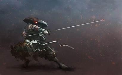 Samurai Warrior Sword Background Wallpapers Fantasy Nakahara