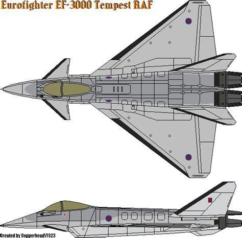Eurofighter Ef-3000 Tempest Raf By Copperheadysf23 On