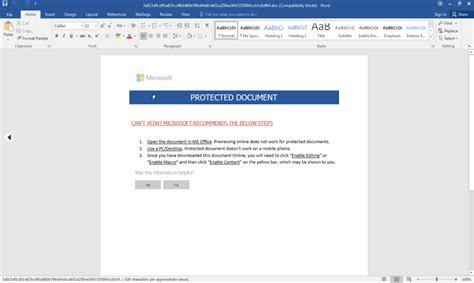password protected word document connects  tor hidden