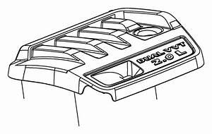 Jeep Patriot Engine Cover  2 0 Liter  Transaxle  Fca