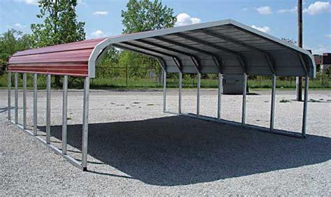 portable carport benefits types  costs garage triage
