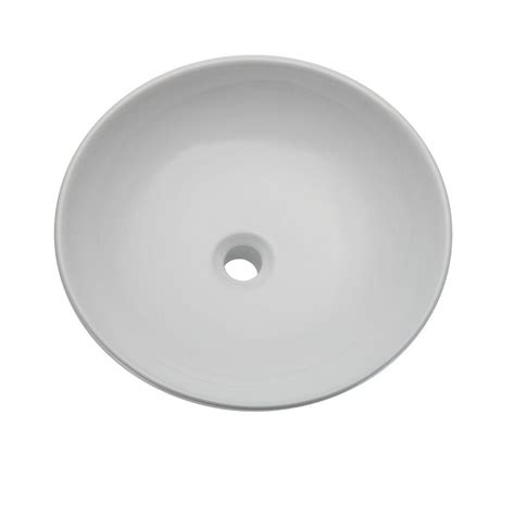 Decolav White Vessel Sinks by Decolav Classically Redefined Vessel Sink In White 1467
