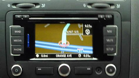 transmission control 2011 volkswagen jetta navigation system volkswagen rns315 gps system demo review and tips in a vw jetta tdi youtube