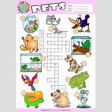 Pets Esl Printable Worksheets For Kids 1
