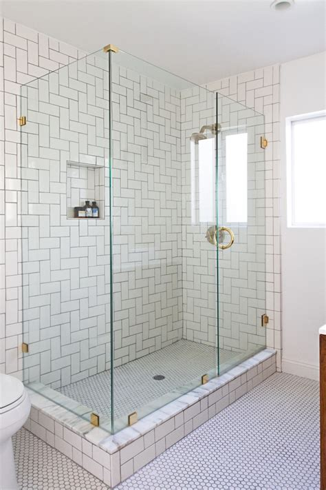 how to install marble subway tile in a tub area with a