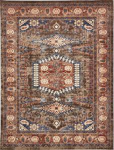 Traditional, Large, Faded, Persian, Design, Area, Rug, Small, Vintage, Style, Carpet, Round