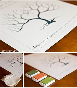 best photos of style unveiled wedding fingerprint tree With thumbprint family tree template