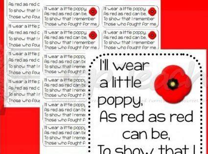 poppy poem big  small top teacher