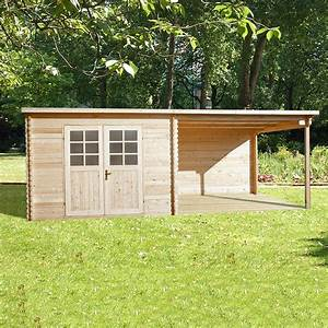 terrasse bois abris de jardin wrastecom With maison bois toit plat 7 abri de jardin warwick 17 28mm avec terrasse direct abris
