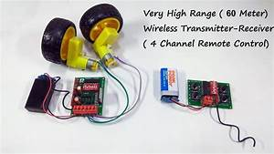 Wireless Remote Control System For Rc Car  Boat  Plane