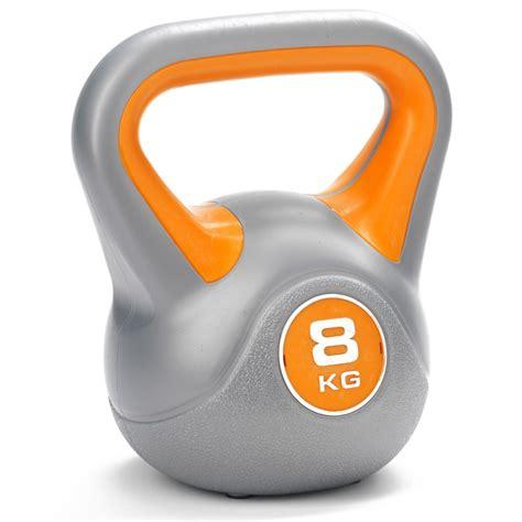 kettlebell york weight vinyl 8kg 10kg dkn kg kettlebells fitness sweatband tone