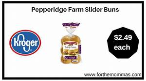 Kroger: Pepperidge Farm Slider Buns ONLY $2.49 {Reg $3.29 ...