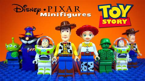lego toy story disney pixar knockoff minifigures includes