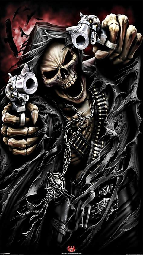 Anime Skull Wallpaper - skull wallpapers to your cell phone anime black