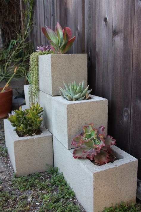 wonderful cinder block gardens