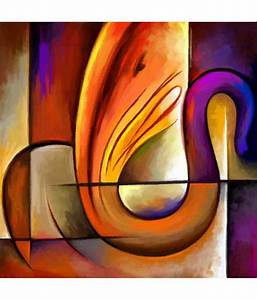 Art Factory Lord Ganesha Canvas Painting Religious