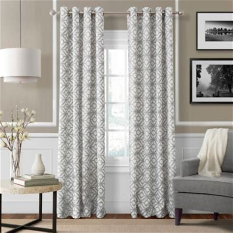 buy light grey curtain panels from bed bath beyond