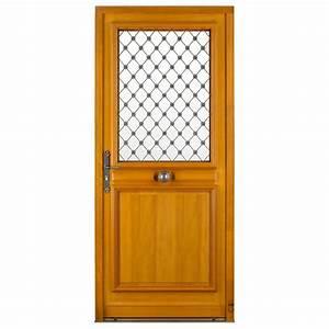 porte d39entree bois thibaudiere pasquet menuiseries With porte d entree exterieure