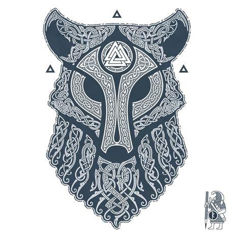 ulfhednar wolf knotwork tattoo  raidho tattoos
