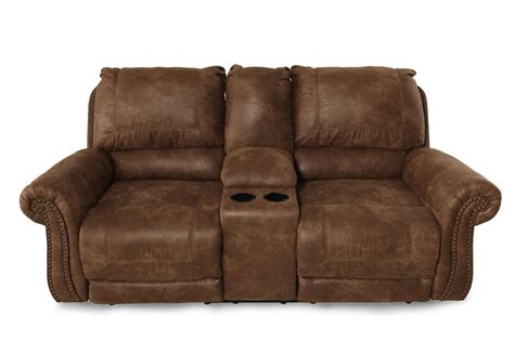 Dual Reclining Loveseat With Console Microfiber by Reclining Microfiber 79 Quot Loveseat With Console In