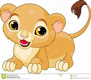 Raring Lion Cub Royalty Free Stock Images - Image: 19430469