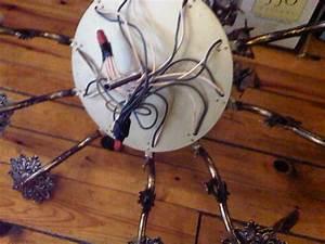 Bluedogz Design  Sarah U0026 39 S Chandelier  How To Wire A Chandelier To Plug In