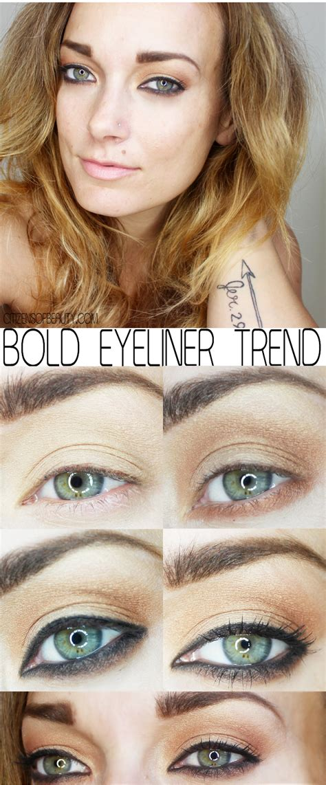 Fall 2014 Makeup Trend Bold Eyeliner Citizens Of Beauty