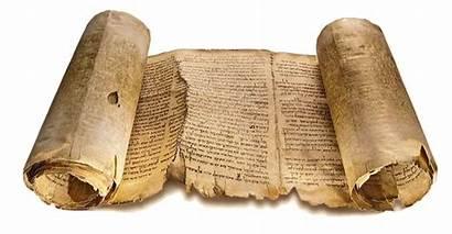 Bible Living Scroll Isaiah Scrolls Ancient Sea