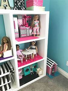 How To Make A DIY American Girl Doll House From An Old