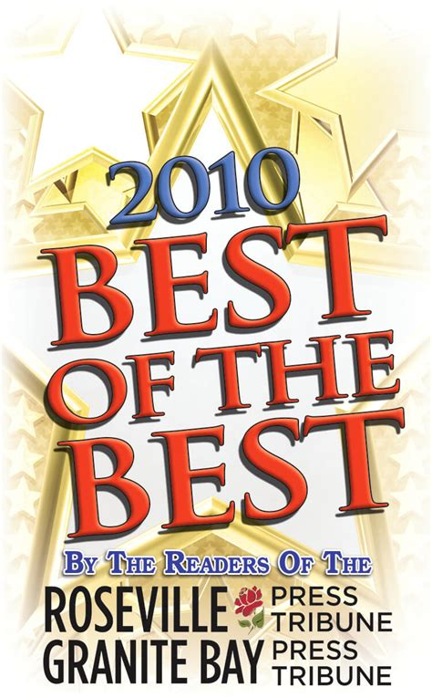 best dentist in roseville and granite bay press tribune 2010
