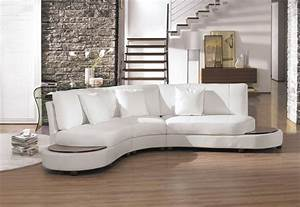 2229bc modern white leather sectional sofa With white sectional sofa
