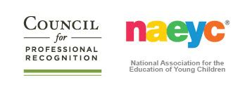 cda and naeyc council for professional recognition 347 | NAEYC Council logo together