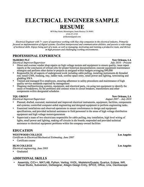 Engineer Resume by Engineer Sle Resume Equipment Fixed Biomedical