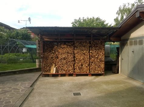 accatastamento tettoia accatastamento e stagionatura legna da ardere pagina 35