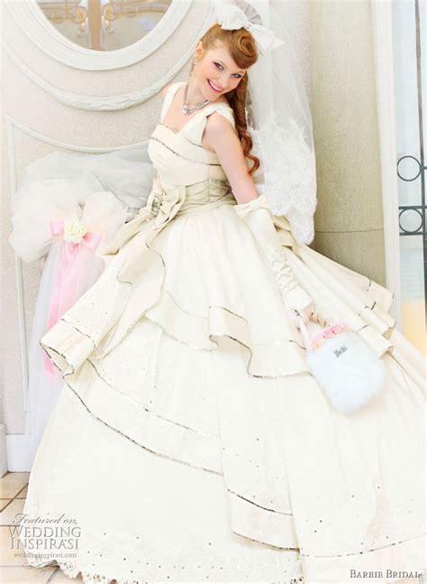 barbie bridal wedding dress  wedding inspirasi