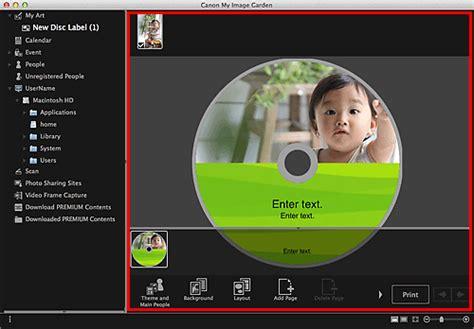 canon podr苹czniki pixma my image garden drukowanie