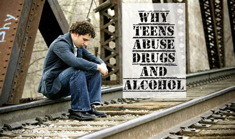 teens abuse drugs  alcohol adolescent