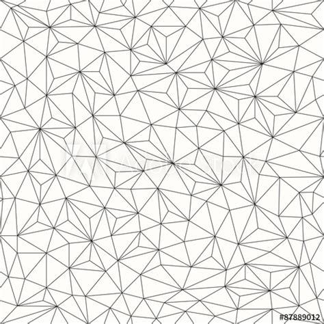 Line Designer by Triangles Background Seamless Pattern Line Design Buy