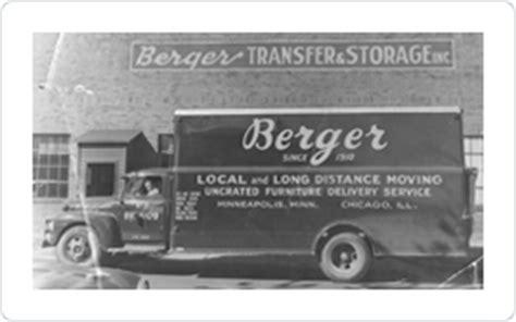 berger history berger transfer storage