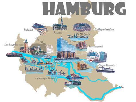 Haus Kaufen Hamburg Karte by Hamburg Stadtplan Poster Vianina Hamburg Poster Stadtplan